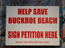Save  Buckroe Yard Sign