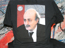 Jumblat Re- Election Design Printed with Simulated Process Print on Dark T-Shirt.